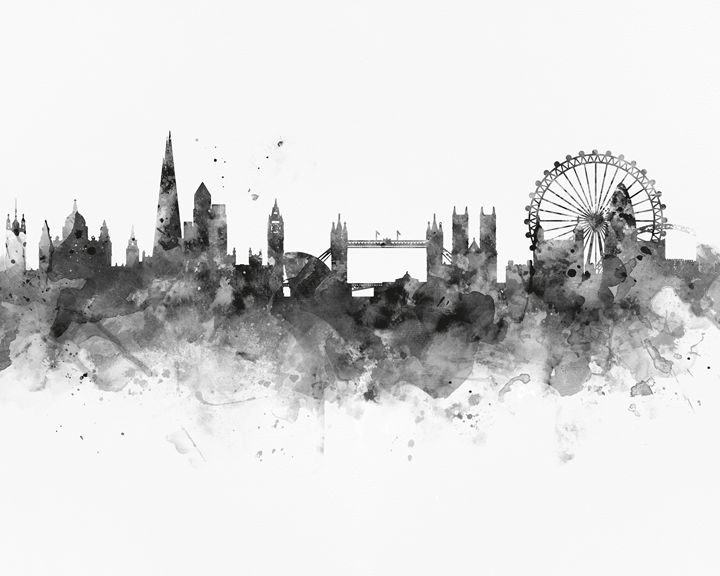 London Skyline - MonnPrint