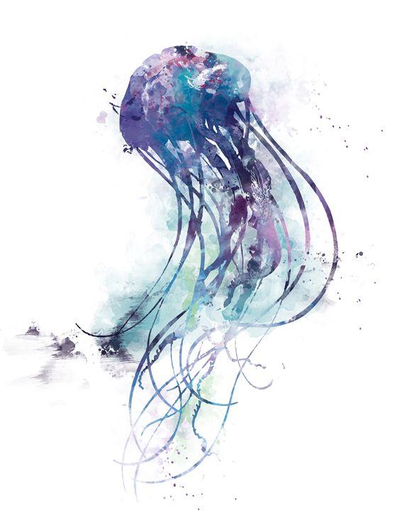 Jellyfish - MonnPrint
