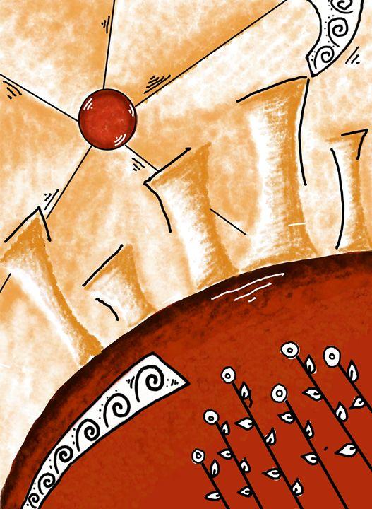 Abstract City Pop Art -  Khushbu.rangari