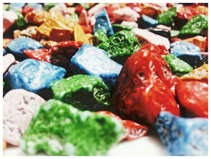Pebble chocolate colorful -  Khushbu.rangari