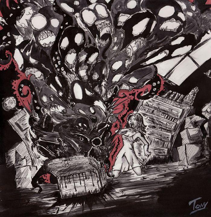 Pandora's Box - Tony's Illustrations