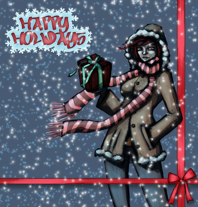 Happy Holidays! - Tony's Illustrations
