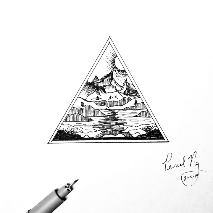 Triangle - Escape Ink