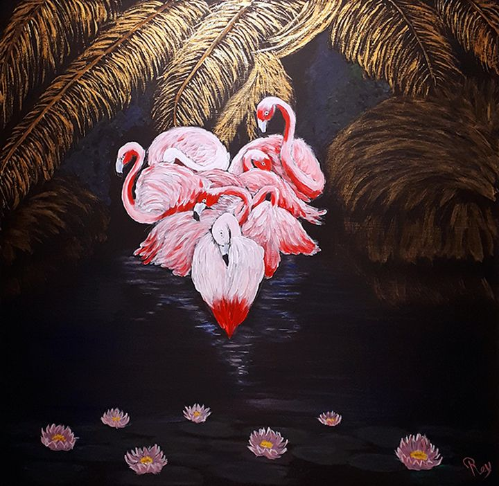i see life in Pink - Bujeque Pedro REY