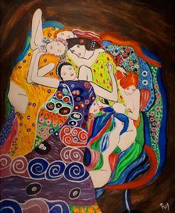 The Virgins of Klimt in my own way