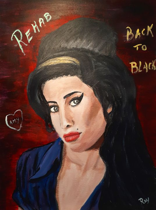 tribute to Amy Winehouse - Bujeque Pedro REY