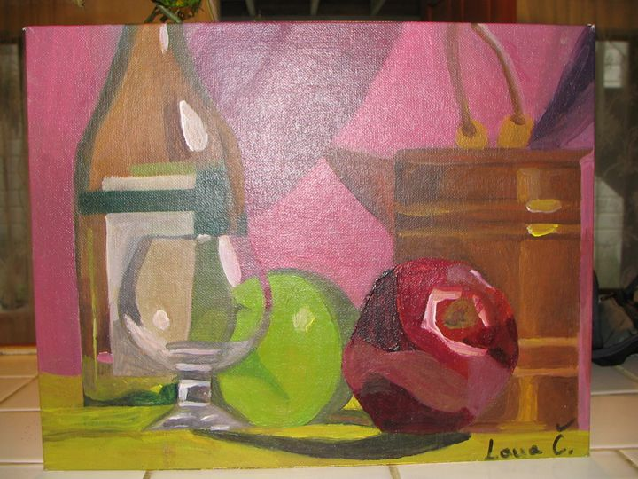 Stll Life1 - Lana's paintings