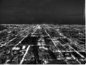 Nightime City Lights