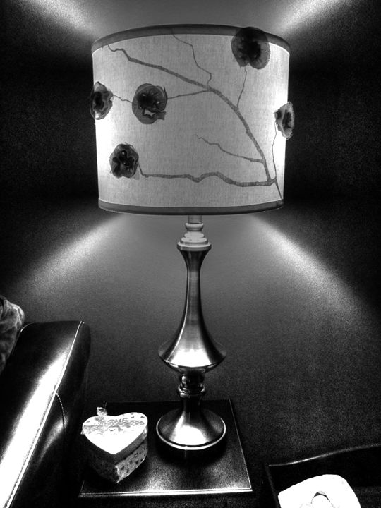 Monochrome Lamp - Art by Shay