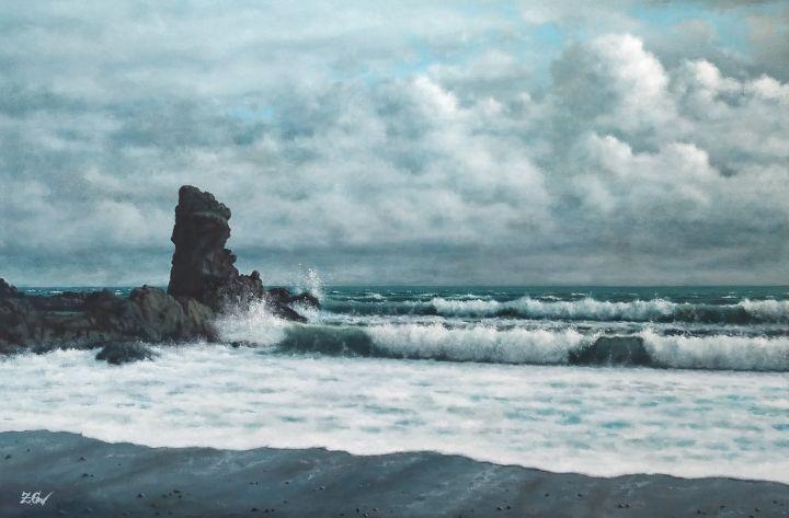 """Iceland. Djupalonssandur"" - Zigmars Grundmanis"