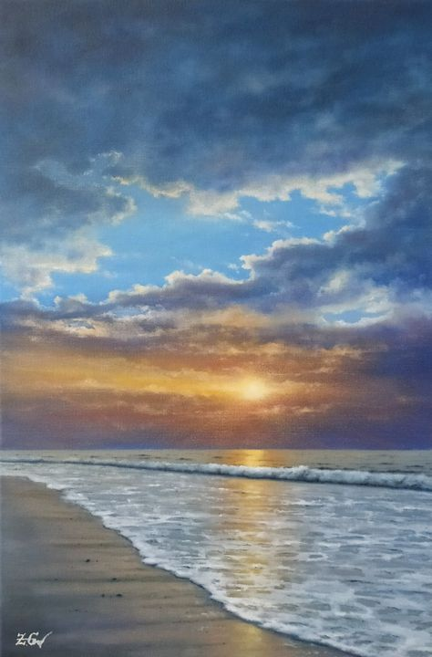 ''Sunset mood''. - Zigmars Grundmanis
