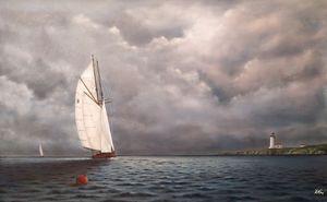 ''Cloudy monday''. - Zigmars Grundmanis