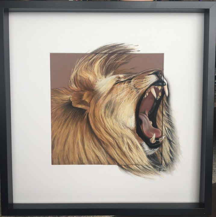 Roaring Lion - Reg'Art de Vie