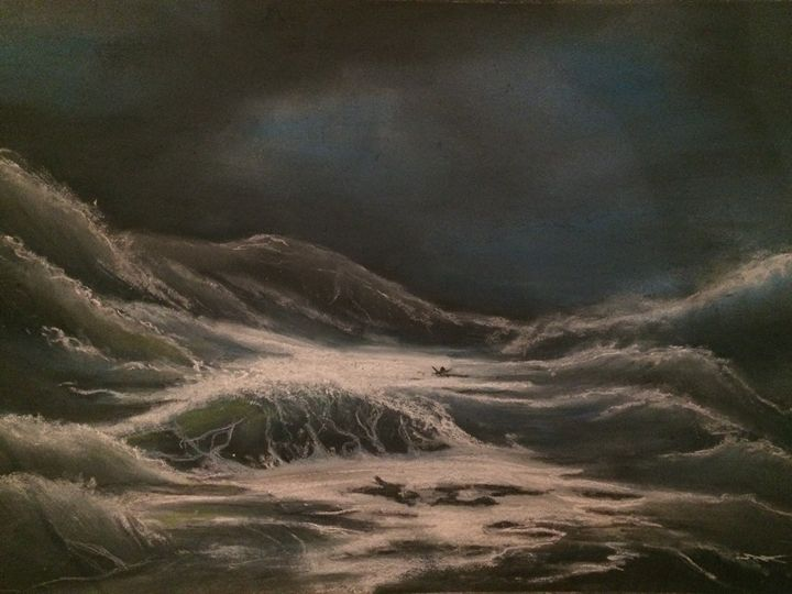Lost in the storm - Reg'Art de Vie