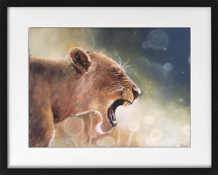 Roaring Lioness - Reg'Art de Vie