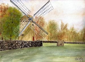 The Jamestown Windmill