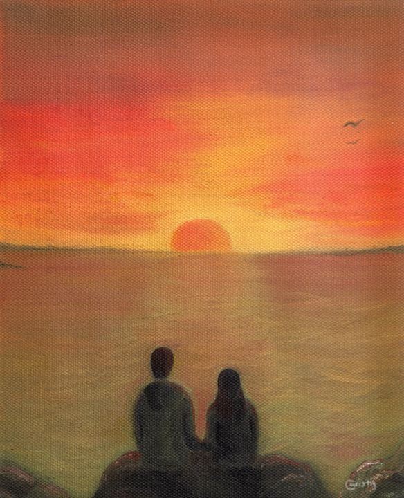 Romantic Sunset - CC ARTWORK