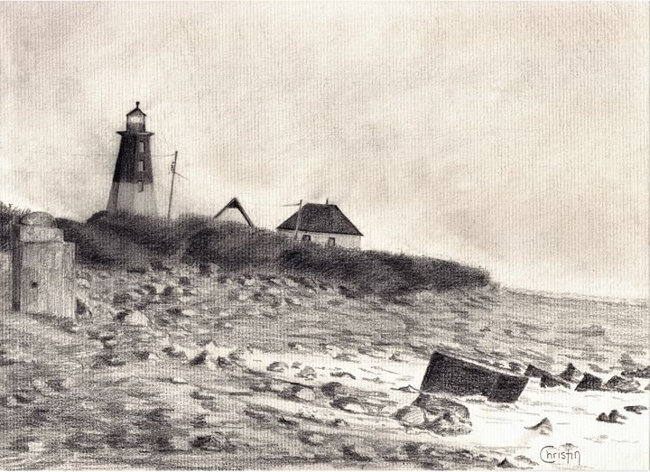 Point Judith Lighthouse - CC ARTWORK