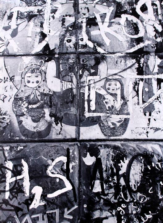 Russian Graffiti on the Arbat - Travels with my Art