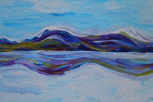 Abstract Landscape Salar I