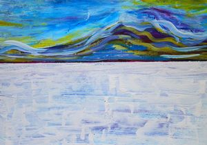 Abstract Landscape Salar II