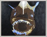 Acrylic Anglerfish Painting
