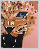 Leopard Kitten Painting