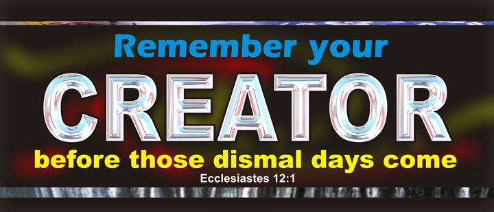 Remember Your Creator - TREASURE FROM ABOVE