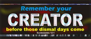 Remember Your Creator