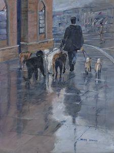 Helen's England:  Dog Walker