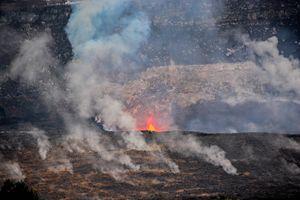 Kilauea Iki Erupting