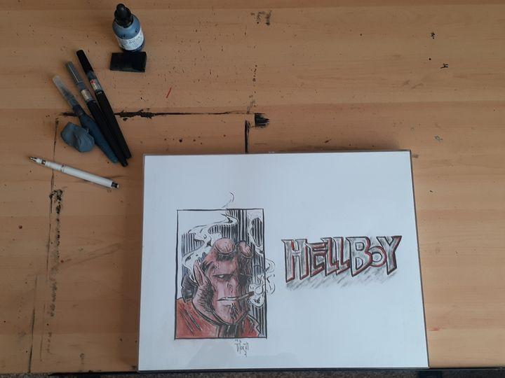 Hellboy - Artist Thorn