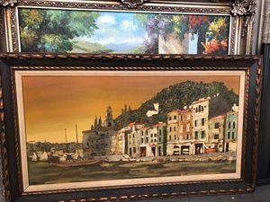 Robert Farrington Oil Painting $1000