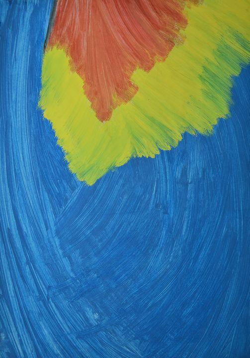 "Red, Yellow, Blue - M&A Art Studio ,,Afrodite"""