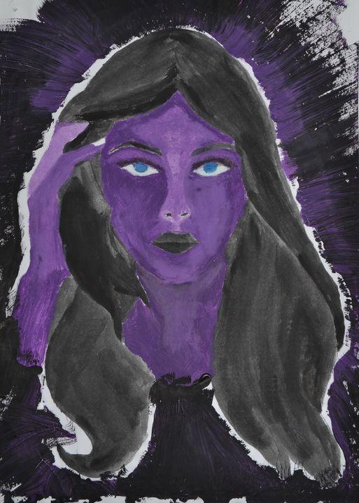 "Purple Beauty - M&A Art Studio ,,Afrodite"""