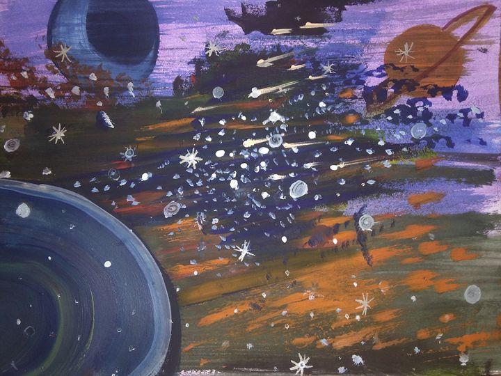 Abstract Glatica - Justin E. Stark