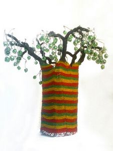 Baobab Tree lampshade