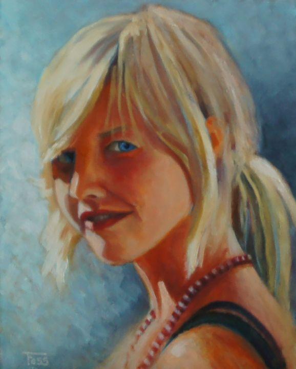 Icelandic girl - Philip Foss