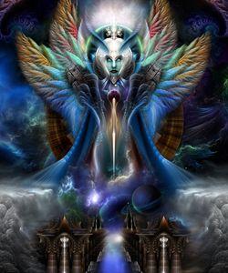 Thera's Eternal Majesty Fractal Art