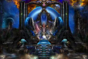Light Of Ancient Wisdom Fractal Art