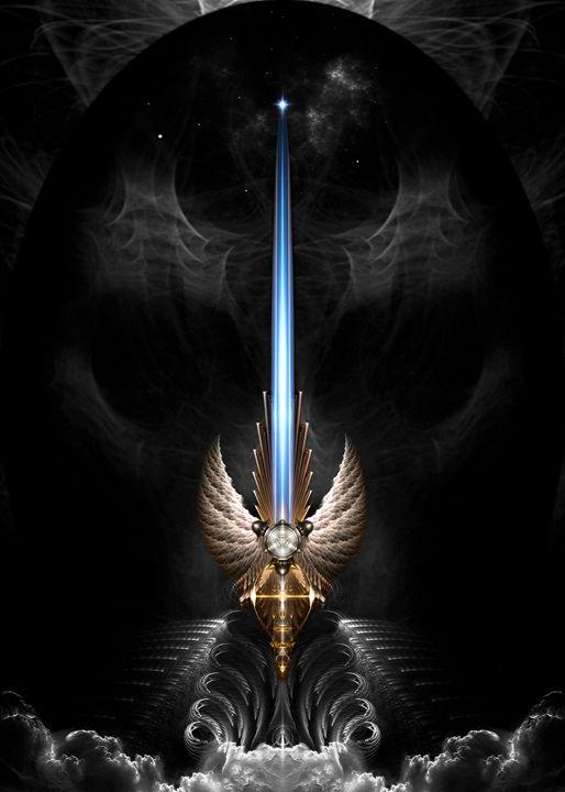 Angel Wing Sword Of Arkledious DGS - Xzendor7