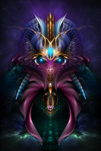 The Orkolon Fractal Alien Art