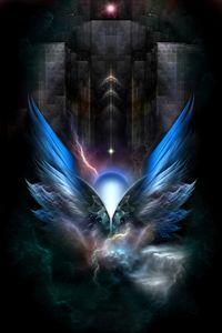 Winged Enchantment Fractal Fantasy
