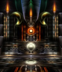 The Throne Room Fractal Art