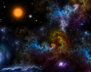 Nebula Menagerie Fractal Art