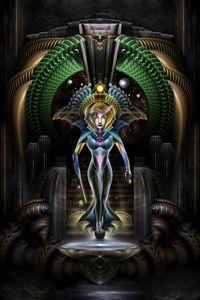 The Majesty Of Trilia Fractal Fantas