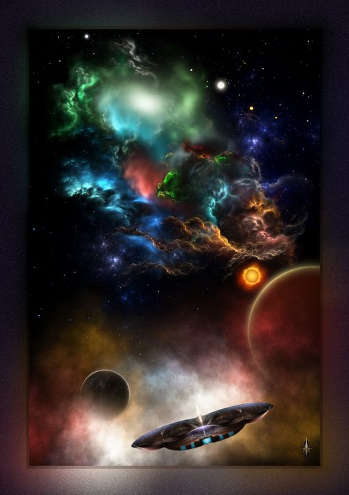 Beyond Space & Time Fractal Art - Xzendor7