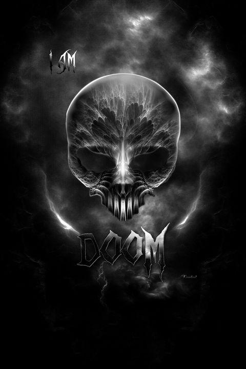 I Am Doom - Gothic Skull - Xzendor7
