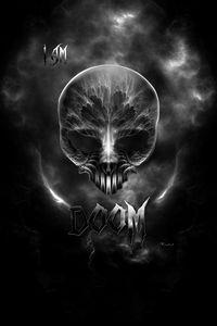 I Am Doom - Gothic Skull
