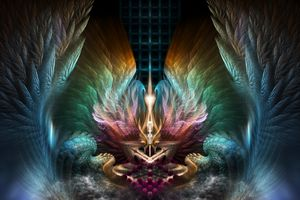 Wings Of Artillian Fractal Art
